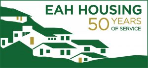 EAH Housing 50th Anniversary Logo Graphic
