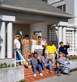 EAH Housing residents at Centertown in San Rafael