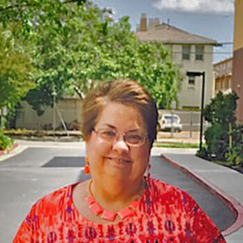 After health setbacks, back to language teaching for Buena Vista resident