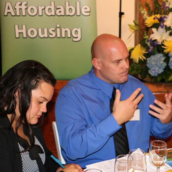 Residents share stories at advocacy event