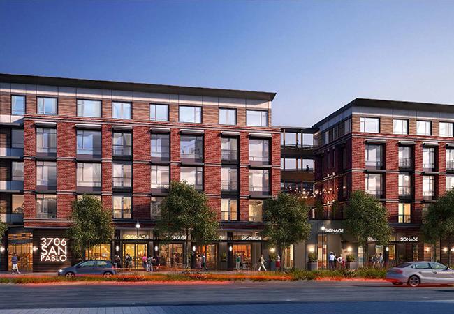 Estrella Vista eah housing front